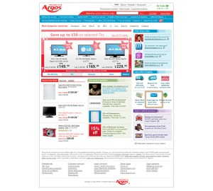 Argos Home Page