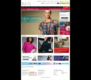M&S Home Page