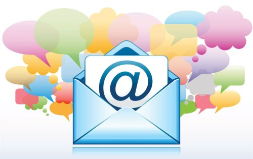 Email working with social.